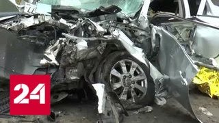 Смертельная авария под Калугой: один из водителей не хотел ждать - Россия 24