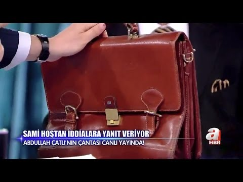 Abdullah Çatlı'nın kaybolan çantası canlı yayında