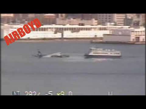 US Airways Crash Video Flight 1549 - Coast Guard Video
