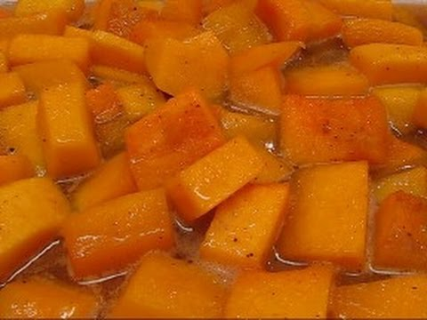 Betty's Brown Sugar Baked Butternut Squash