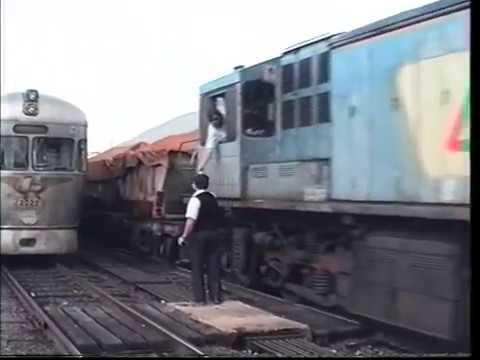 Trains In Brisbane -1992