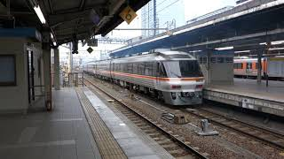 特急ワイドビューひだ5号・名古屋駅を発車