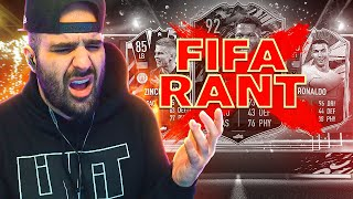 FIFA 21 RAGE.. THE STATE OF FIFA 21 ULTIMATE TEAM