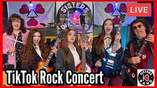 "K3 Sisters Band ""TikTok Rock Concert"" 8/7/21"