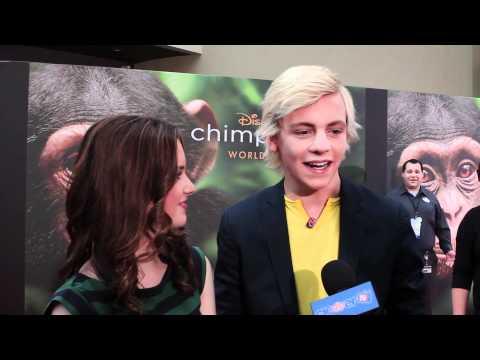 "Laura Marano & Ross Lynch Interview - Disneynature ""Chimpanzee"" Premiere"