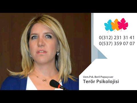 Terör Psikolojisi - Uzm.Psk. Beril Papuçcuer