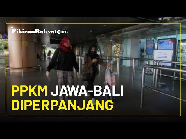 Kasus Covid-19 Tak Terkendali, PPKM di Wilayah Jawa Bali Diperpanjang 2 Minggu Mulai 25 Januari