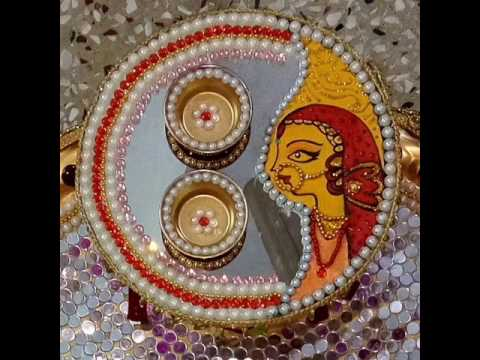 Beautiful weddingpoojaaarti thalis decorative and handmade youtube beautiful weddingpoojaaarti thalis decorative and handmade junglespirit Choice Image