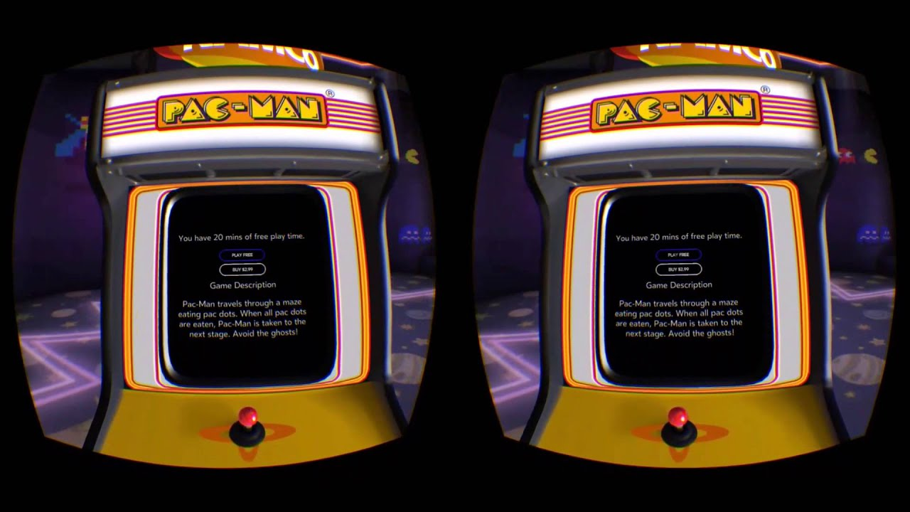 First Look at Oculus Arcade on Gear VR