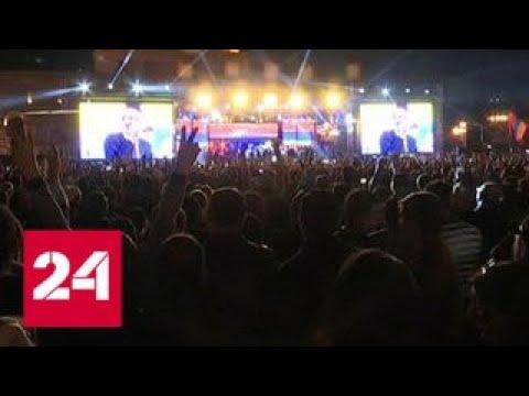 Метро, железная дорога, аэропорт: оппозиция парализовала Ереван - Россия 24