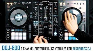 DDJ-800 | a fresh design for 2 channel DJ controllers from Pioneer DJ