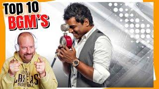 TOP 10 Yuvan Shankar Raja BGM's | Reaction