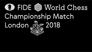 World Chess Championship 2018 Tie-breaks press conference