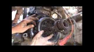 Как поменять диск сцепления в двигателе ВАЗ 21083. Сделай Сам!