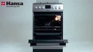 Плита газово-електрична Hansa FCMS58224