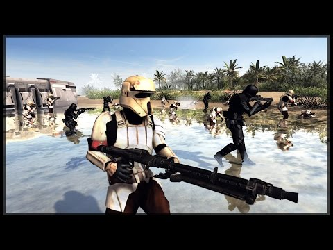 ROGUE ONE SHORE TROOPERS AND DEATH TROOPERS - Star Wars Mod - Men of War: Assault Squad 2