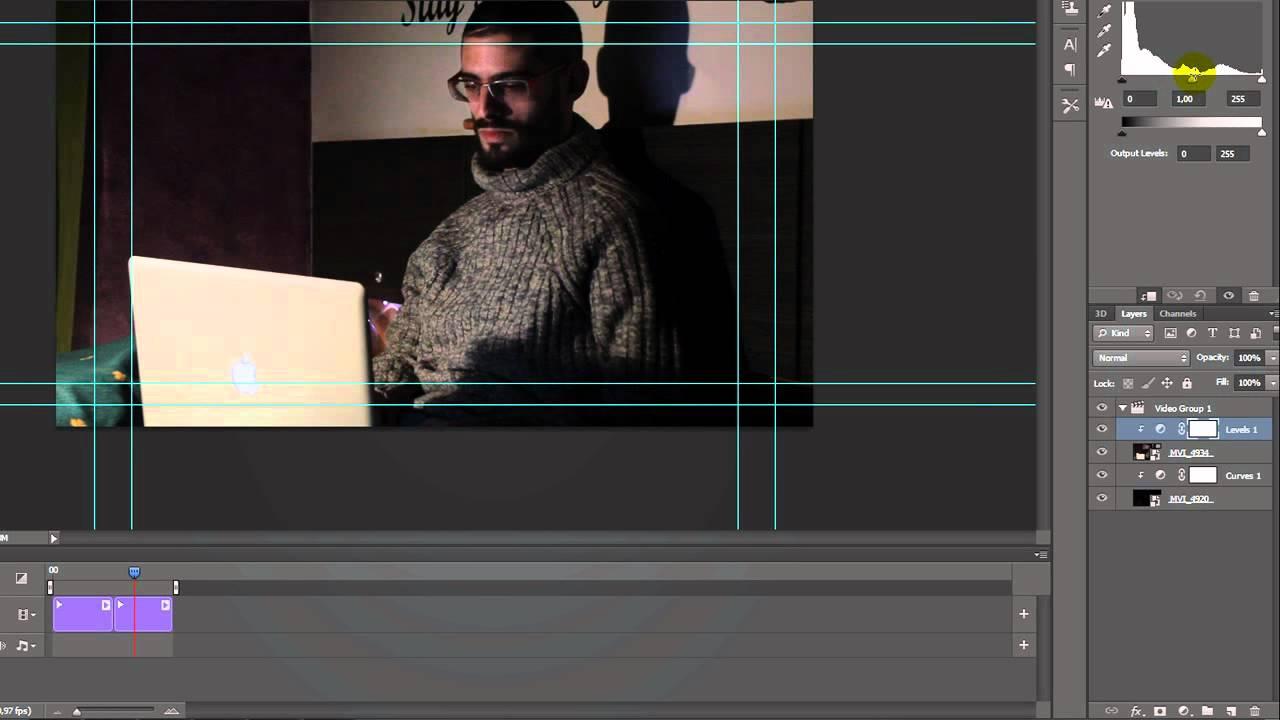 Tutorial Photoshop Cs6 Editar Video By Rafael Tuduri Youtube