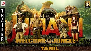Jumanji Welcome to the Jungle Tamil Trailer | Dwayne Johnson, Jack Black, Kevin Hart,
