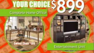New Lots Furniture Refurnish With Your Refund Sale