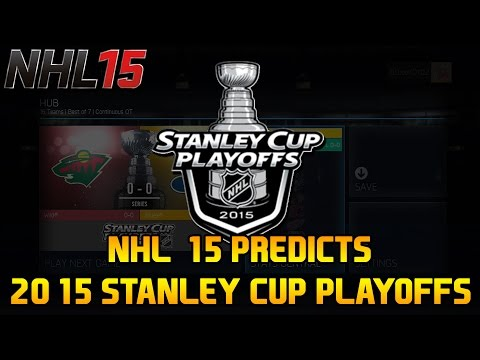2015 Stanley Cup Playoff Predictions (NHL 15 Playoff Mode – XB1)