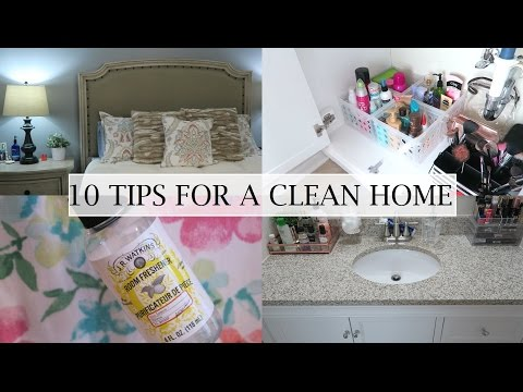 10 Tips For a Clean Home - Erica Lee