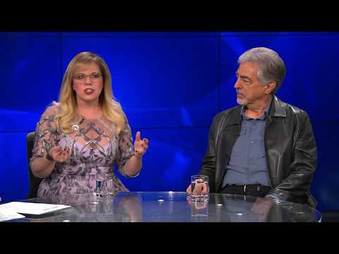 Joe Mantegna and Kirsten Vangsness Talk Working on