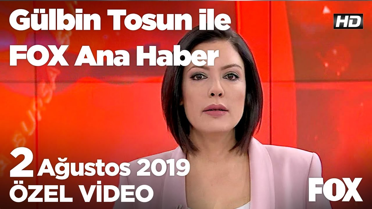 Bayram ikramiyesi... 2 Ağustos 2019 Gülbin Tosun ile FOX Ana Haber