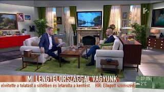 Kovács Zoltán: ˝Soros György tervei köszönnek vissza az EP intézkedéseiben˝ - tv2.hu/mokka