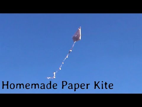 How to make a | Kup Kite | with Homemade paper