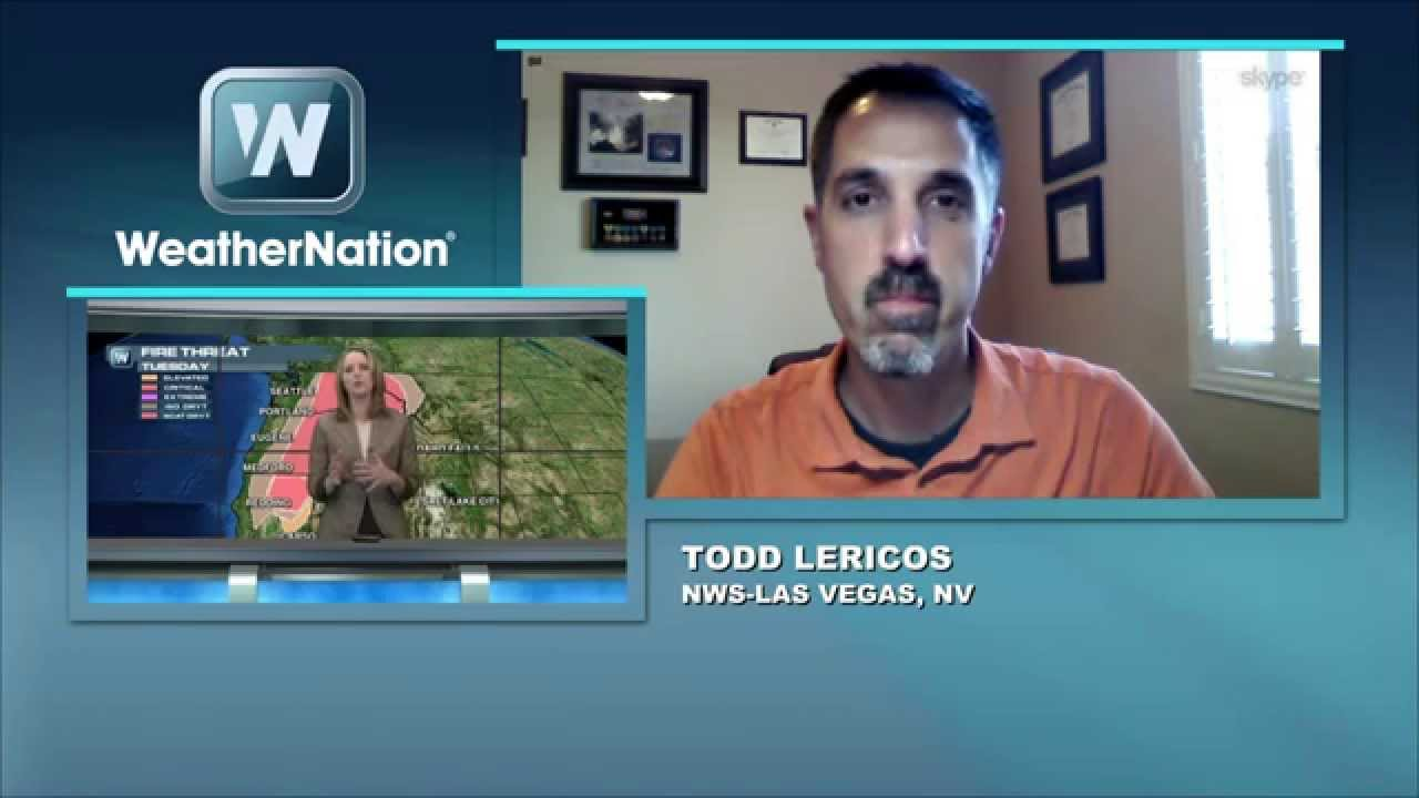 Weathernationnow Interview With Meteorologist Todd Lericos On