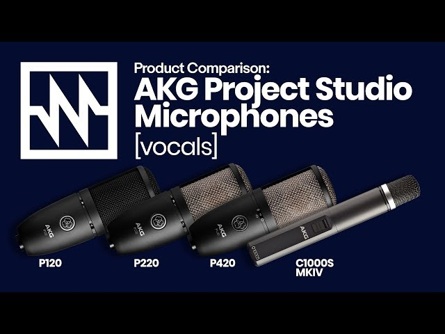 AKG Project Studio Microphones: Vocal Comparison – with Emily Williams