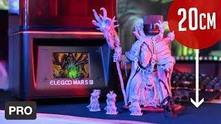Elegoo MARS PRO - 20cm Figur, Wasser Resin & Upgrades! (DLP/LCD 3D Drucker)