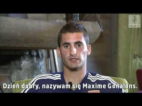 Maxime Gonalons zaprasza na mecz Pogoń Szczecin - Olympique Lyon