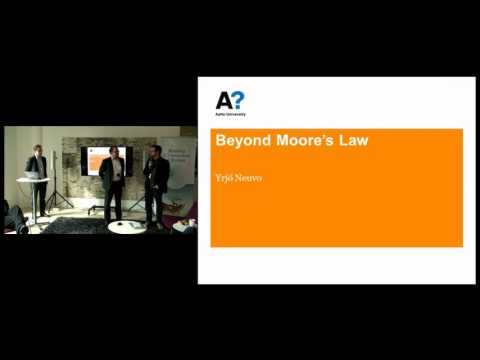 Lunch Talk with Yrjö Neuvo on Beyond Moore's Law on 10 Apr 2015