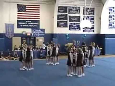 Dumont Competition Cheerleading Junior Team performs in Wood-Ridge, NJ