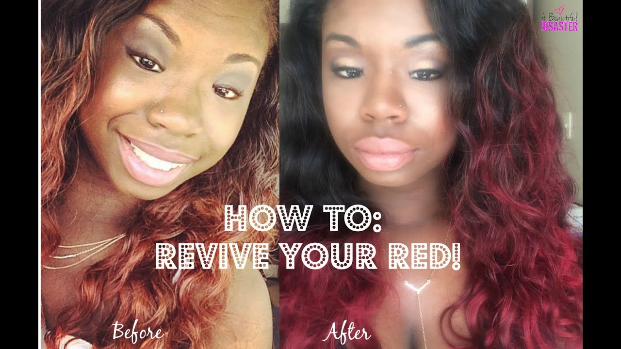Loreal Hicolor Magenta How To Revive Your Red Hair Feat All