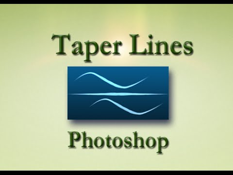 How to Taper Lines in Photoshop