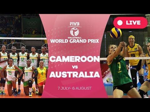 Cameroon v Australia - Group 3: 2017 FIVB Volleyball World Grand Prix