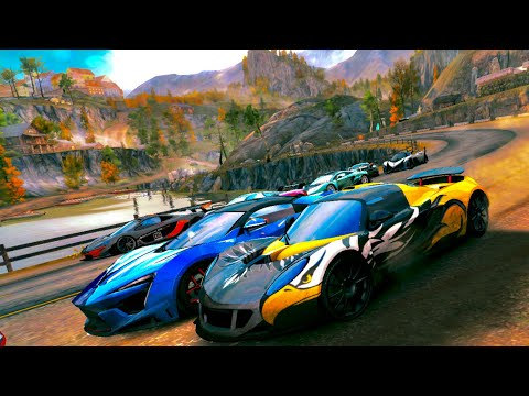 Asphalt 8, ALL S CLASS CARS MAX PRO, METAL SEASON, Transylvania