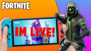 Pro Fortnite Nintendo Switch Player // Pro solo Matches // Duos With Subs // Fortnite + Tips!!