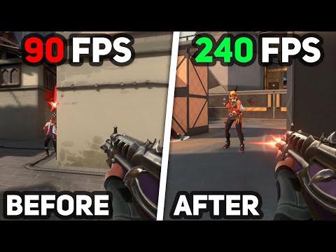 Best VALORANT Settings For High FPS & Low Input Lag
