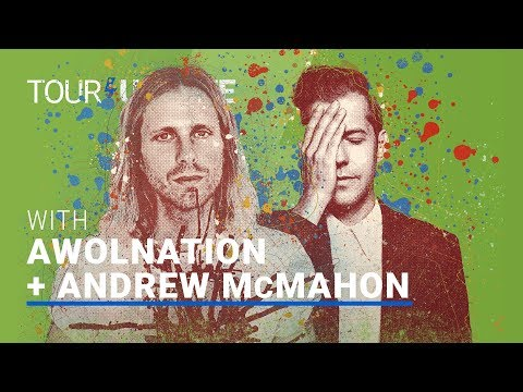Download  Tour Update: AWOLNATION & Andrew McMahon in the Wilderness - The Lightning Riders Tour | setlist.fm Gratis, download lagu terbaru