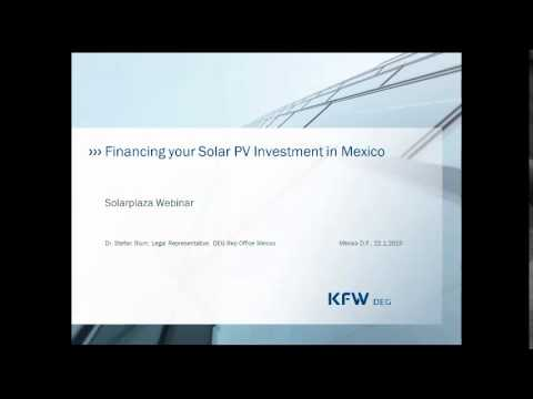 Mexico: Latin America's most attractive solar market (Solarplaza Webinar)