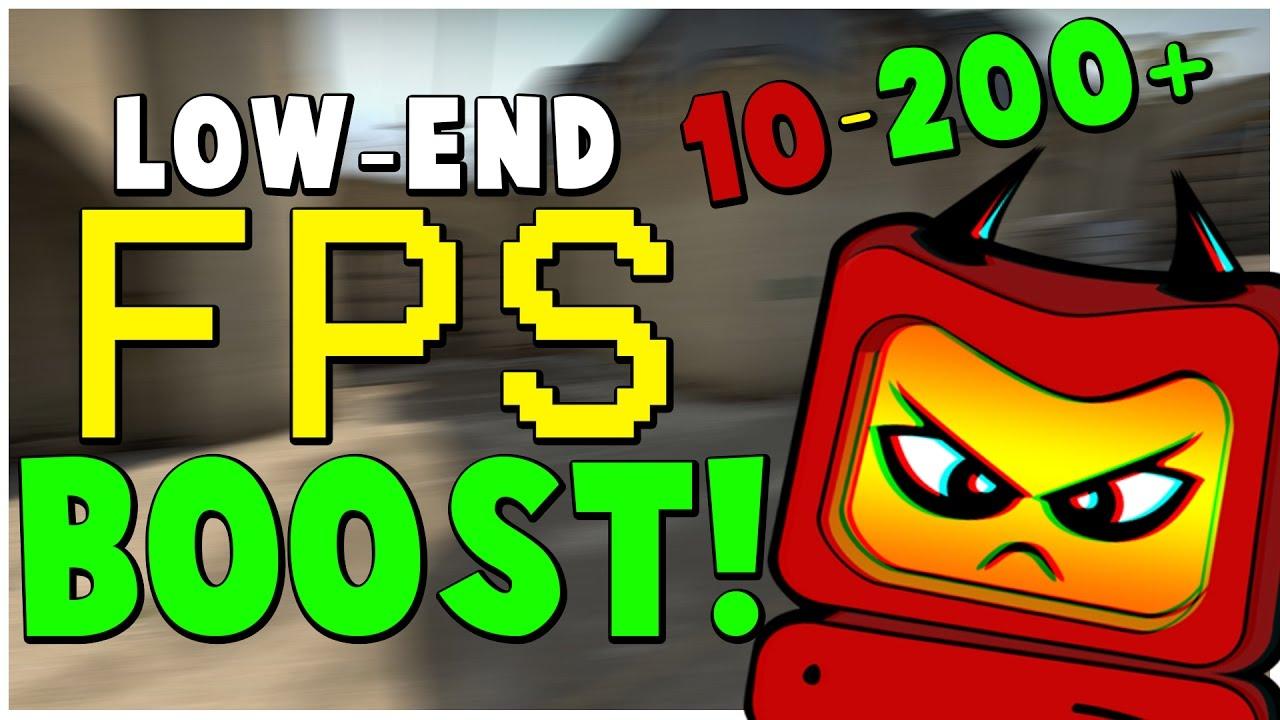 CS:GO FPS BOOST (2017) FOR LOW-END PCs/LAPTOPS!