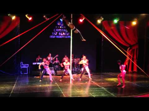 Шоу акробатов Crystal Tat