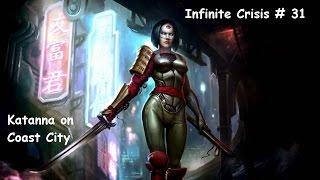 KATANA, KEEPER OF THE SOULTAKER! - Infinite Crisis # 31 Katana on CC