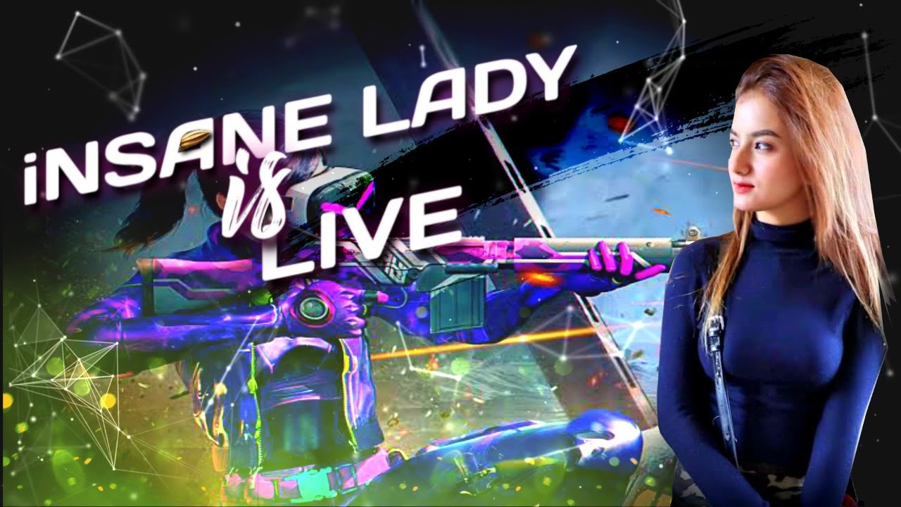 iNSANE LADY IS LIVE ||  LIVIK MAP || PUBG MOBILE UPDATE 19.0 ||