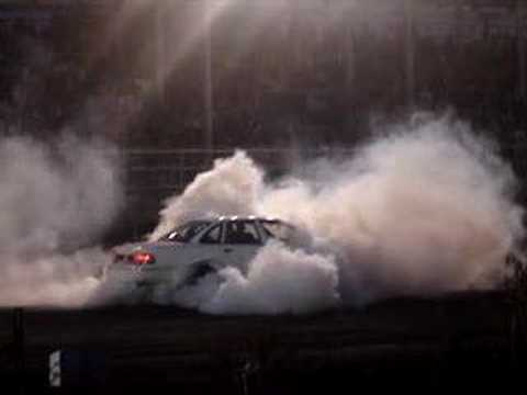 Burnout in the squad car