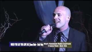 When You Say You Love Me - Bich Van & Sean Buhr - Live at the Rose Center Theater
