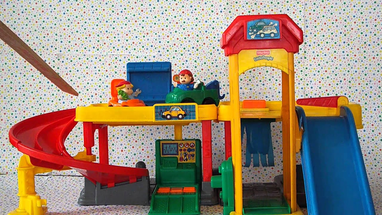 Fisher Price Little People Ramps Around Garage Youtube Make Your Own Beautiful  HD Wallpapers, Images Over 1000+ [ralydesign.ml]